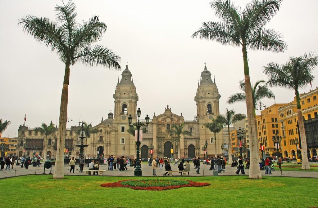 Lima Peru - Plaza Mayor