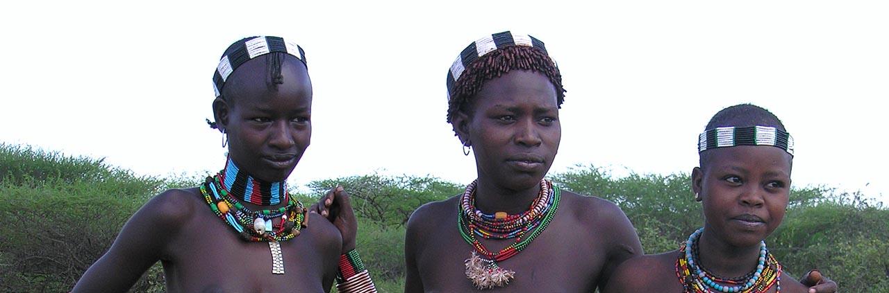 Ethiopië - Jonge vrouwen